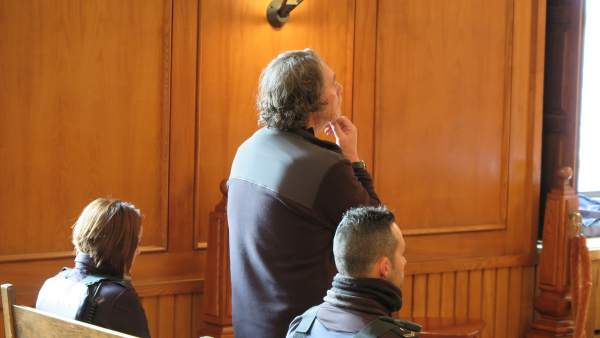 Sito Miñanco en el juicio por blanqueo en la Audiencia Provincial de Pontevedra.