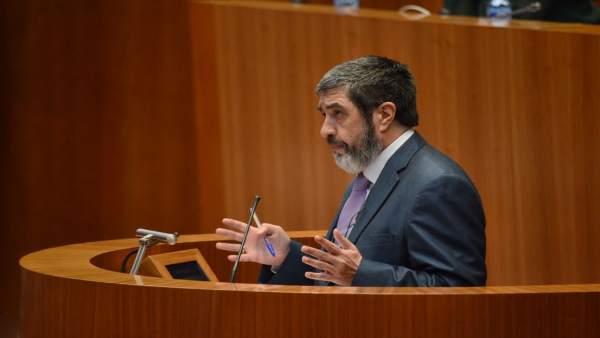 El procurador de Ciudadanos Manuel Mitadiel