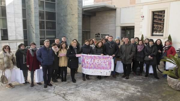 Mujeres en el Arte presentación en Logroño