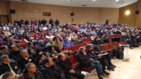 Asamblea CCOO y UGT