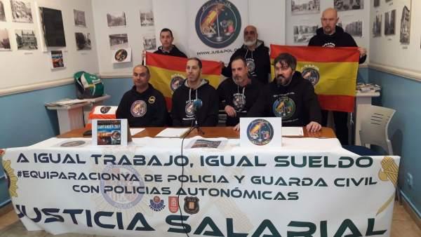 Representantes de Jusapol