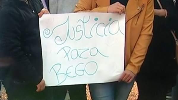 Protesta en San Fernando contra el encarcelamiento de Begoña