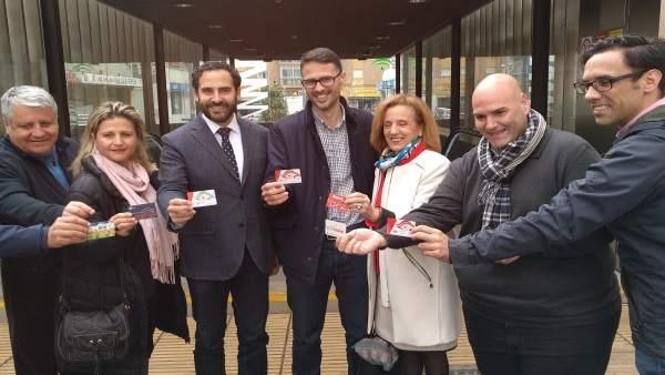 El PSOE en el Ayuntamiento en una rueda sobre el metro