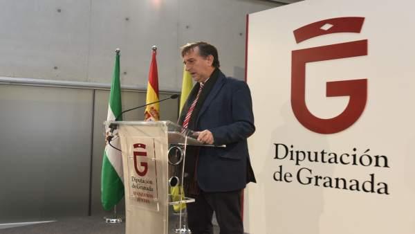 El diputado de Economía, Patrimonio y Recursos Humanos, Manuel Gómez.