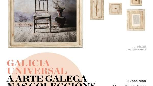 Cartel de la muestra 'Galicia Universal'