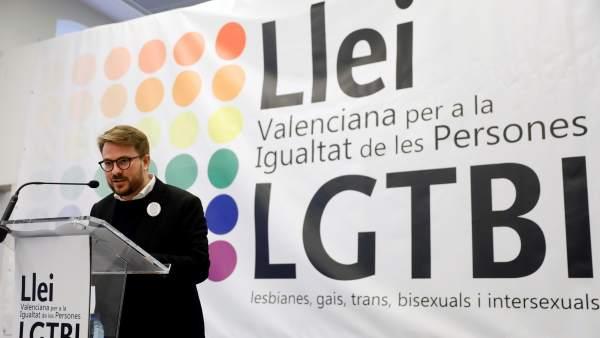 Presentación de la futura ley LGTBI valenciana