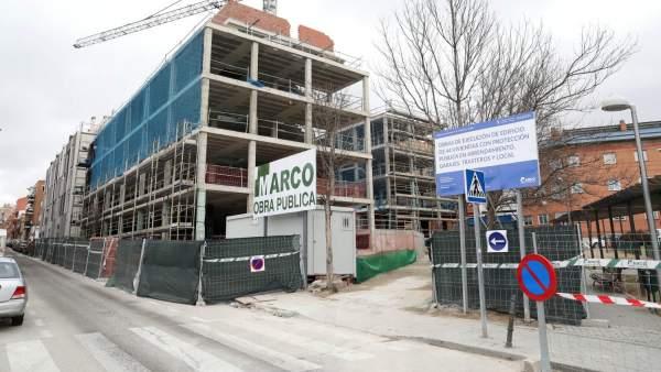 Construcción de vivienda social