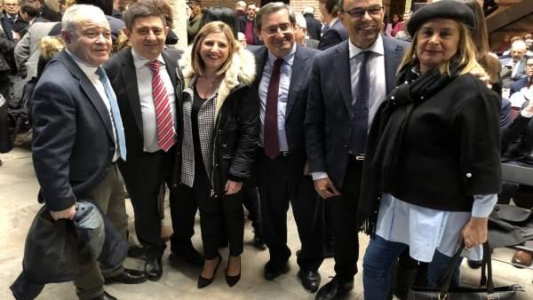 Nota De Prensa, Fotos Y Audio De Hoy, 27 De Febrero, Presidente De Diputación En