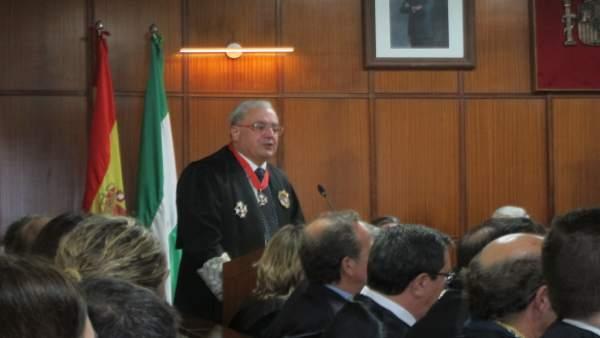 Rafael Morales durante su intervención