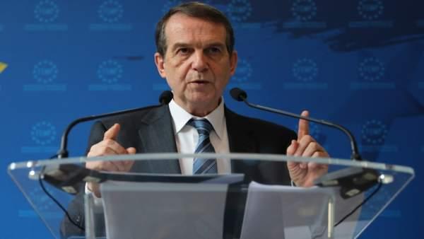 Rueda de prensa de Abel Caballero tras la cumbre con alcaldes en Madrid