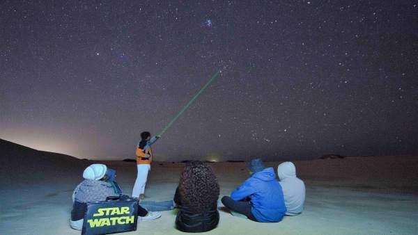 Astro turismo en Cabo de Gata