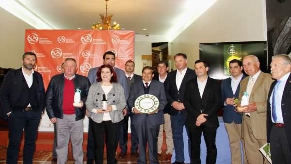 Entrega de los premios al Mejor Aceite de Oliva Virgen Extra de la provincia.