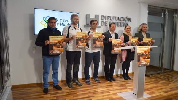 Presentan el 'Andalucía Orientación Meeting 2018'.