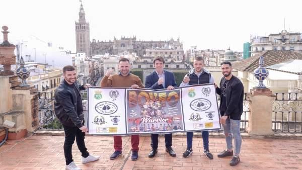 Presentación del torneo 'Sevilla Warrior'