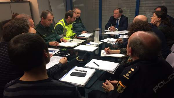 Reunión comité ejecutivo Moragues