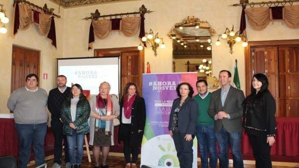 Presentación en Almería de la campaña #AhoraNosVes