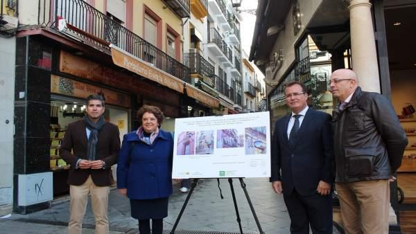 Nota De Prensa Y Foto Nuevo Alumbrado Zona Comercial Centro
