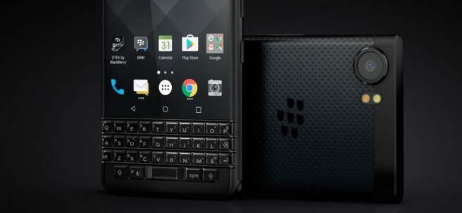 Blackberry lanza KEYOne, un dispositivo con teclado inteligente que responde a gestos táctiles, al igual que la pantalla.