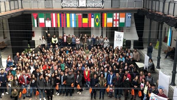 Estudiantes Erasmus en la Universidad de Cádiz