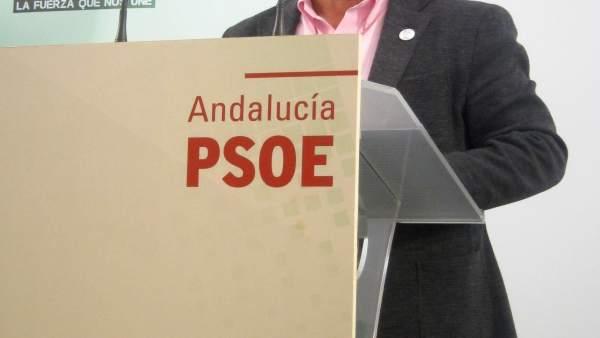 El secretario general del PSOE de Jaén, Francisco Reyes, en una foto de archivo.