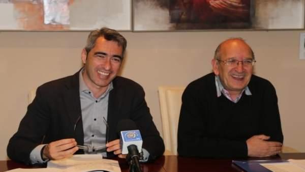 Víctor Navas y Manuel Arroyo, alcalde y edil del Ayuntamiento de Benalmádena