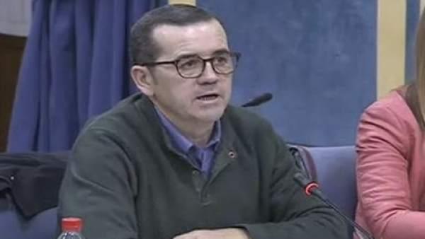 El parlamentario socialista Miguel Castellano