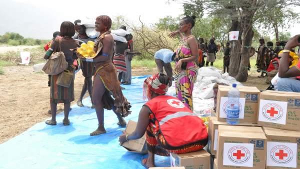 Cruz Roja en Etiopía