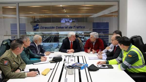 Reunión del Comité Provincial de Vialidad Invernal de Zaragoza