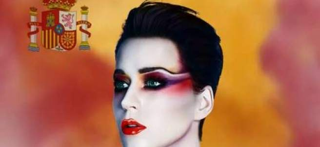Captura de pantalla del anuncio del concierto en Barcelona de la cantante Katy Perry.