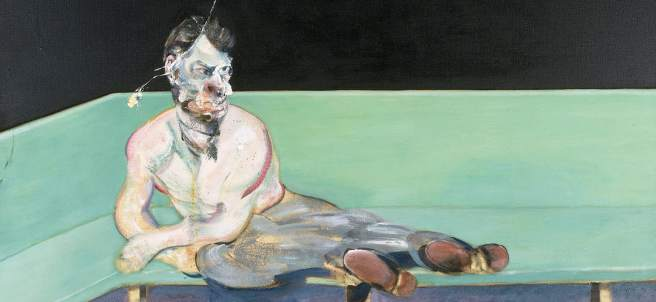 Francis Bacon. Study for Portrait of Lucian Freud, 1964.