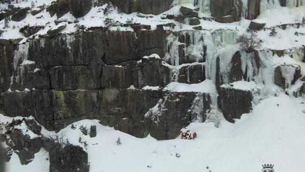 Rescate a un escalador en las Lagunas de Neila