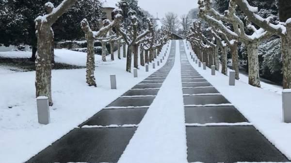 Nieve en Oviedo