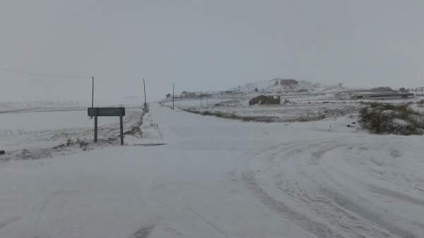 La nieve afecta a las rutas escolares