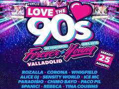Cartel de 'Love the 90's'