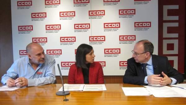Rueda de prensa de CCOO sobre la sentencia de las unidades de gestión clínica