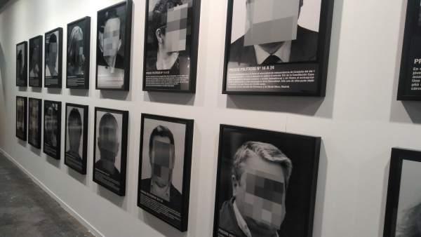 La obra 'Presos políticos' de Santiago Sierra