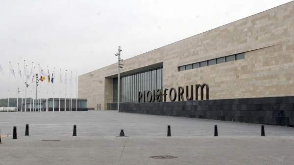 Edificio de Riojafórum, en Logroño
