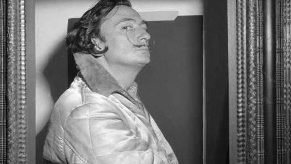 Foto de Salvador Dalí de Ricard Sans