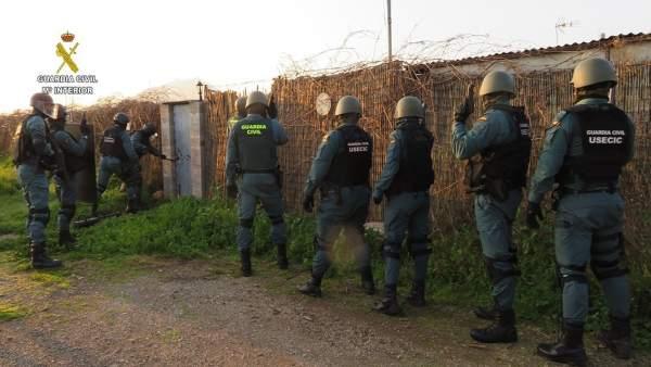 Guardia Civil robos