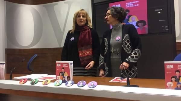 Marisa Ponga y Mercedes Fernández