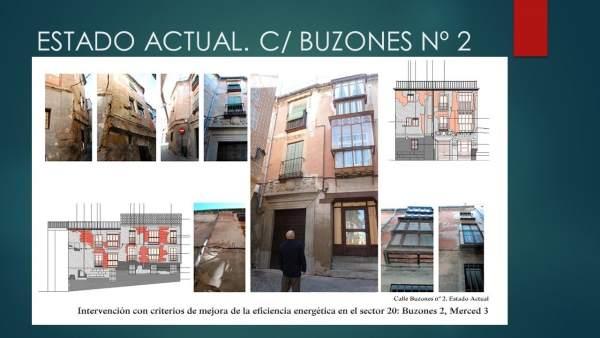Rehabilitación calle Buzones