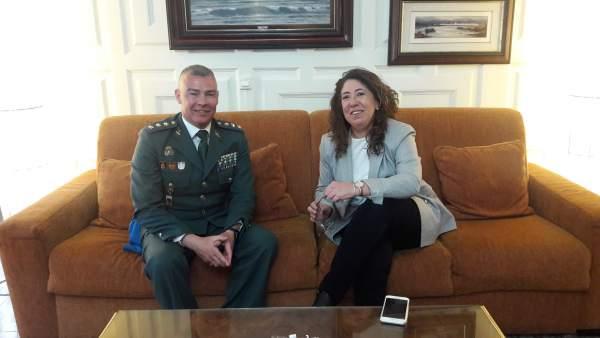 José Santiago Martín Gómez y Carmen Alba.
