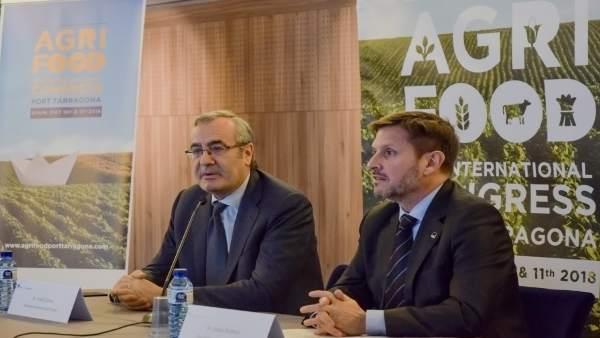 Presentación de la 2a edición a Agrifood en Tarragona
