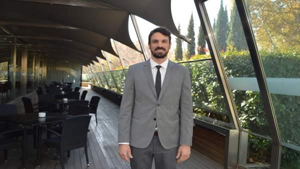El alcalde de Gimenells i el Pla de la Font, Dante Pérez