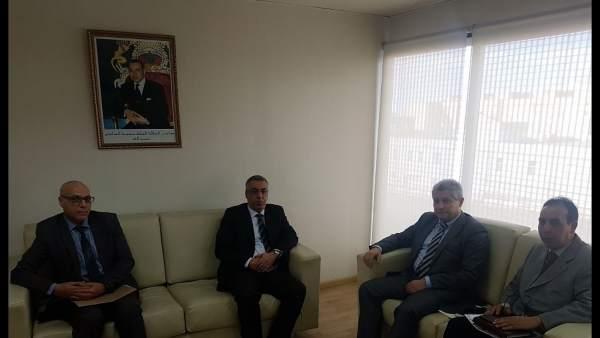 Reunión de Cs Almería con el cónsul de Marruecos