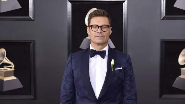 El presentador Ryan Seacrest el pasado 28 de enero, en la gala anual de los Premios Grammy, celebrada en Nueva York