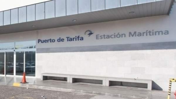 Imagenn de acceso del puerto de Tarifa