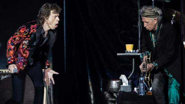 Mick Jagger y Keith Richards