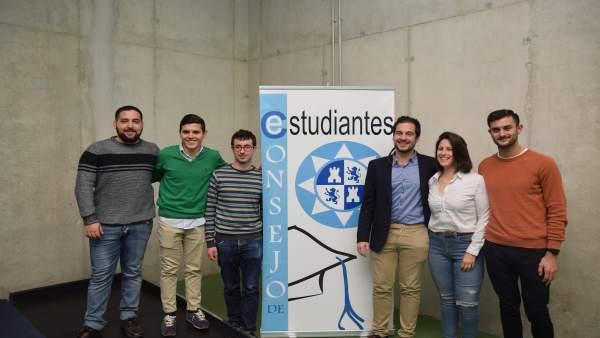 Imagen del nuevo Consejo de Estudiantes de la UPCT