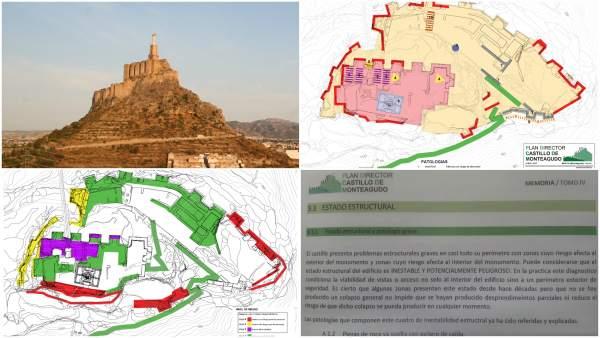 Castillo De Monteagudo Y FOTOS DEL PLAN DIRECTOR